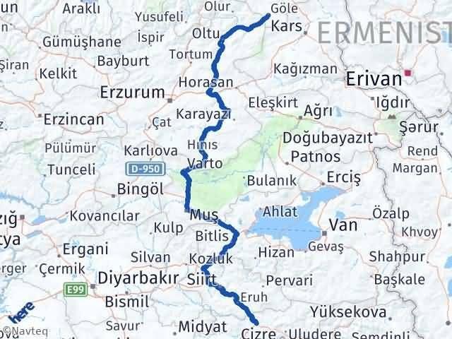Şırnak Göle Ardahan Arası Kaç Km? - Kmhesaplama.com Arası Kaç Km Saat? Nerede Yol Haritası Yakıt, Rota ve Mesafe Hesaplama