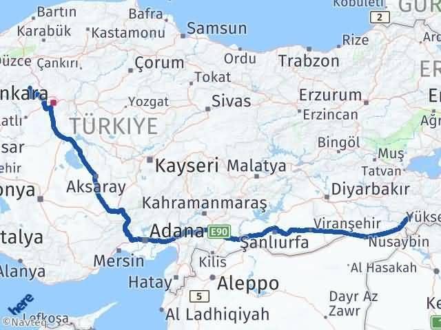 Şırnak Güdül Ankara Arası Kaç Km? - Kmhesaplama.com Arası Kaç Km Saat? Nerede Yol Haritası Yakıt, Rota ve Mesafe Hesaplama