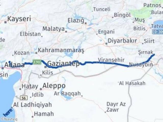 Şırnak İmamoğlu Adana Arası Kaç Km? - Kmhesaplama.com Arası Kaç Km Saat? Nerede Yol Haritası Yakıt, Rota ve Mesafe Hesaplama