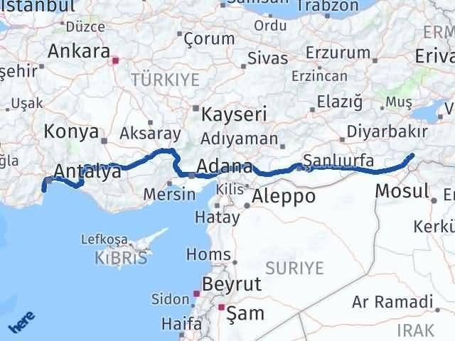 Şırnak Kemer Antalya Arası Kaç Km? - Kmhesaplama.com Arası Kaç Km Saat? Nerede Yol Haritası Yakıt, Rota ve Mesafe Hesaplama