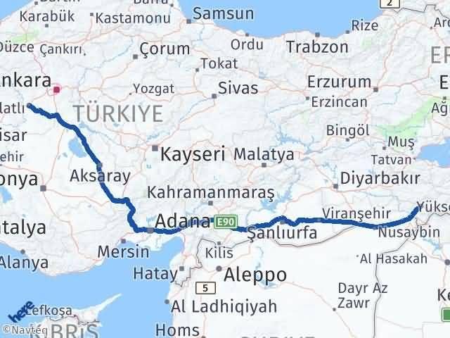 Şırnak Polatlı Ankara Arası Kaç Km? - Kmhesaplama.com Arası Kaç Km Saat? Nerede Yol Haritası Yakıt, Rota ve Mesafe Hesaplama
