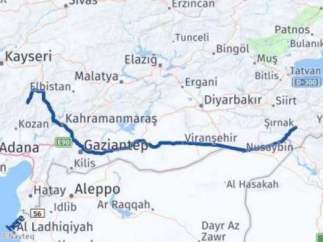 Şırnak Saimbeyli Adana Arası Kaç Km? - Kmhesaplama.com Arası Kaç Km Saat? Nerede Yol Haritası Yakıt, Rota ve Mesafe Hesaplama