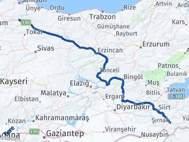 Şırnak Taşova Amasya Arası Kaç Km? - Kmhesaplama.com Arası Kaç Km Saat? Nerede Yol Haritası Yakıt, Rota ve Mesafe Hesaplama