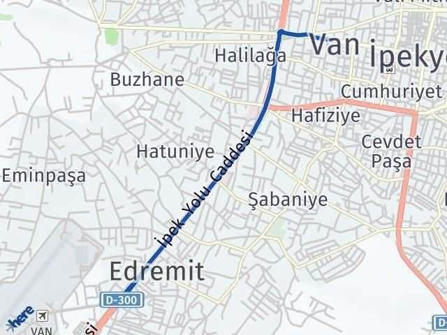 Van Edremit Arası Kaç Km? Yol Haritası - Km Hesaplama Arası Kaç Km Saat? Nerede Yol Haritası Yakıt, Rota ve Mesafe Hesaplama