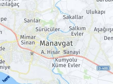 Manavgat Arası Kaç Km? Manavgat İlçe Haritası