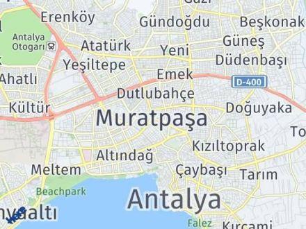 Muratpaşa Arası Kaç Km? Muratpaşa İlçe Haritası