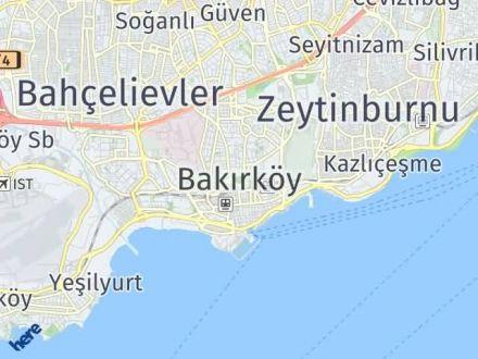 Bakırköy Arası Kaç Km? Bakırköy İlçe Haritası