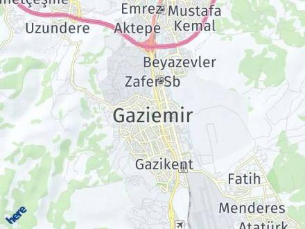 Gaziemir Arası Kaç Km? Gaziemir İlçe Haritası