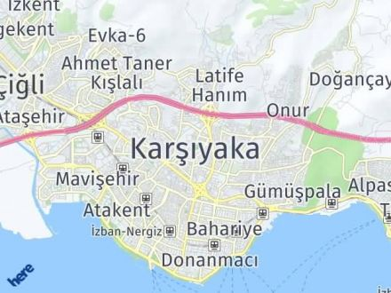 Karşıyaka Arası Kaç Km? Karşıyaka İlçe Haritası