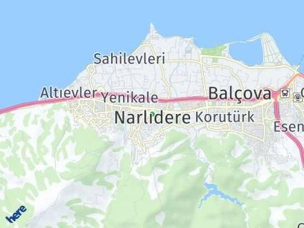 Narlıdere Arası Kaç Km? Narlıdere İlçe Haritası