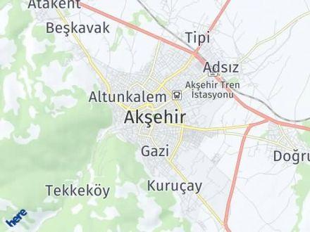 Akşehir Arası Kaç Km? Akşehir İlçe Haritası