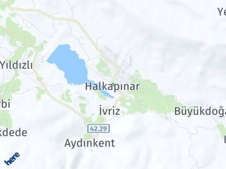 Halkapınar Arası Kaç Km? Halkapınar İlçe Haritası